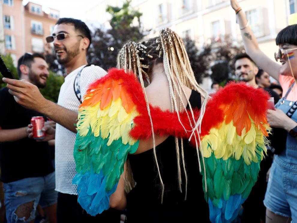La cantante y pregonera de esta edición del Orgullo LGTBI ha sido Mónica Naranjo.