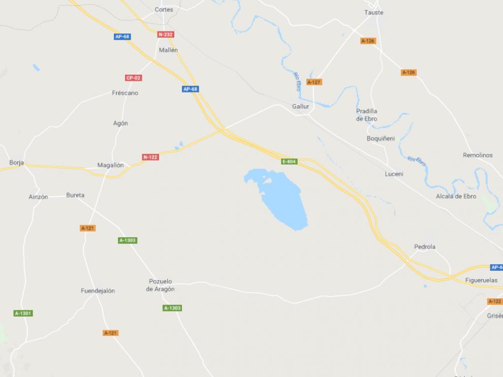 Los accidentes han ocurrido cerca de Magallón y de Pedrola