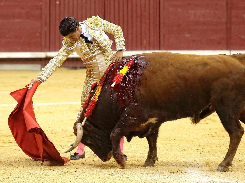 Pablo Aguado sustituye a Roca Rey en Teruel.