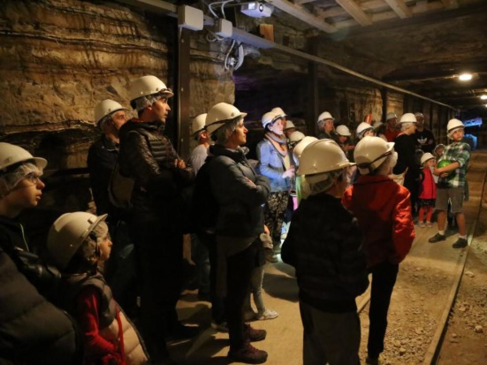 El museo de la mina es una de los tres espacios expositivos.