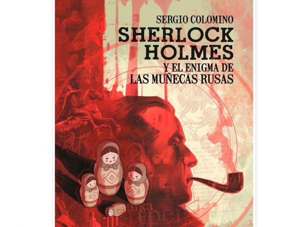 Portada de 'Sherlock Holmes y el enigma de las muñecas rusas'.