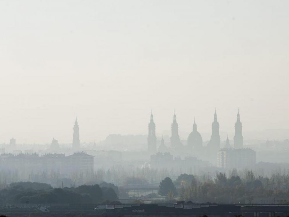 Contaminación en Zaragoza