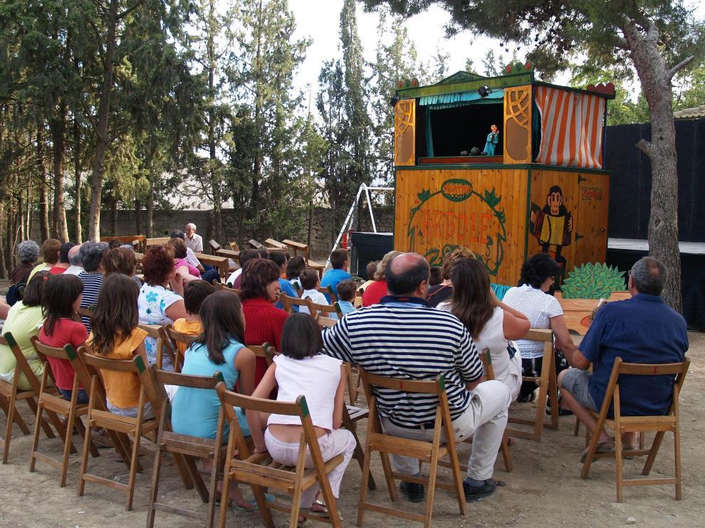 Festival de la Oralidad en Robres .