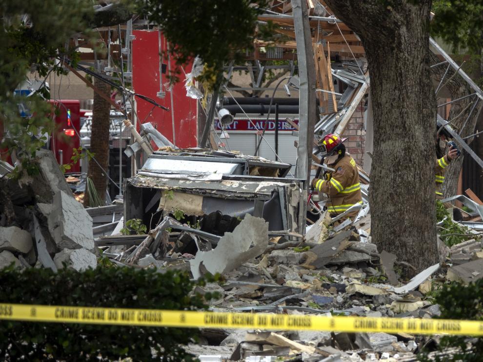 Hubo numerosos daños materiales