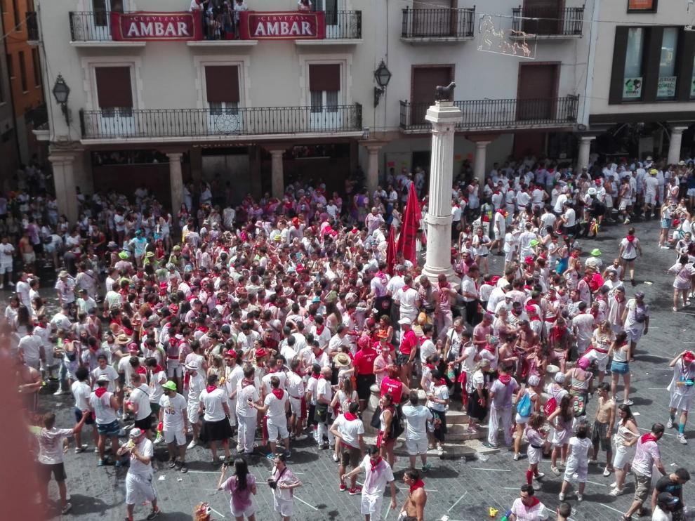 Los hoteles de Teruel están al completo este fin de semana. La ciudad triplica su población durante las fiestas de la Vaquilla.