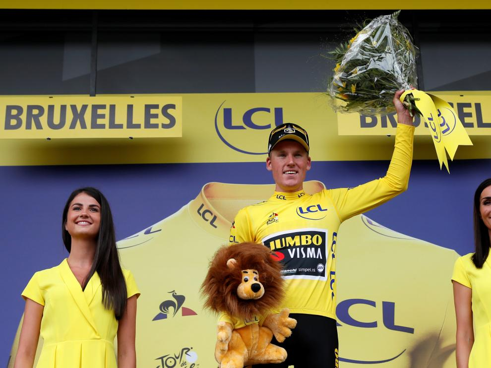 Teunissen, primer líder del Tour de Francia.