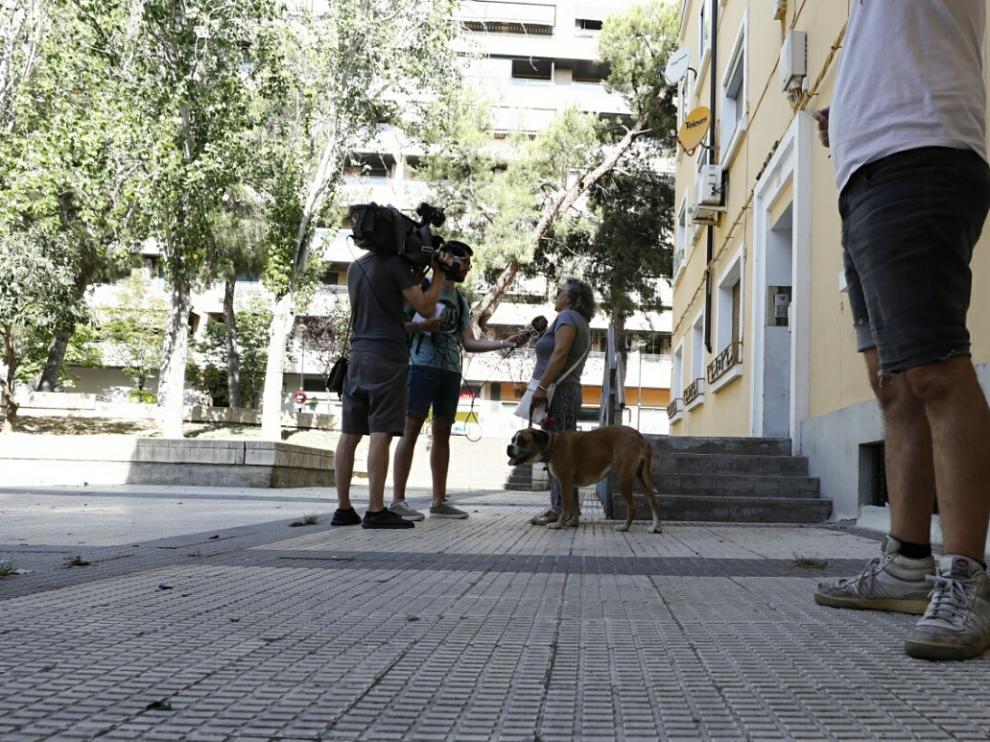 Los hechos han ocurrido este domingo por la mañana en la calle Sicilia, en el barrio de San José