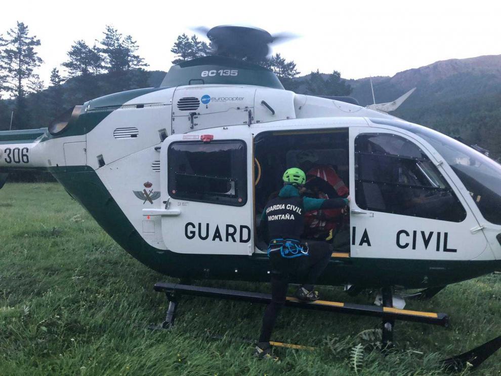 Operativo de rescate en Hecho