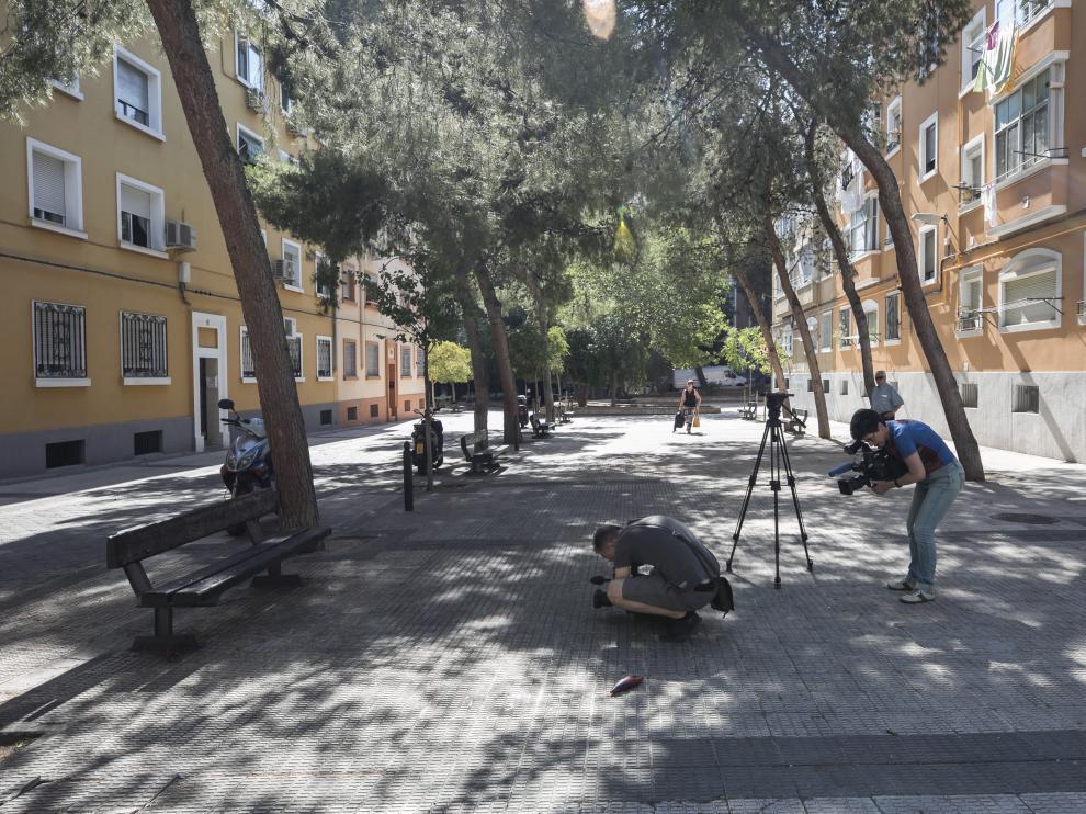 El suceso ha tenido lugar en la calle Sicilia, del barrio de San José