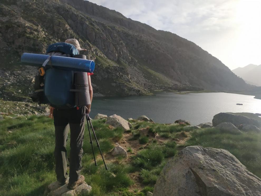 El activista 'Miss Pachamama', Rafael Sanchís, se encuentra inmerso en su nueva aventura ecológica: 'Pirineos Limpios'.