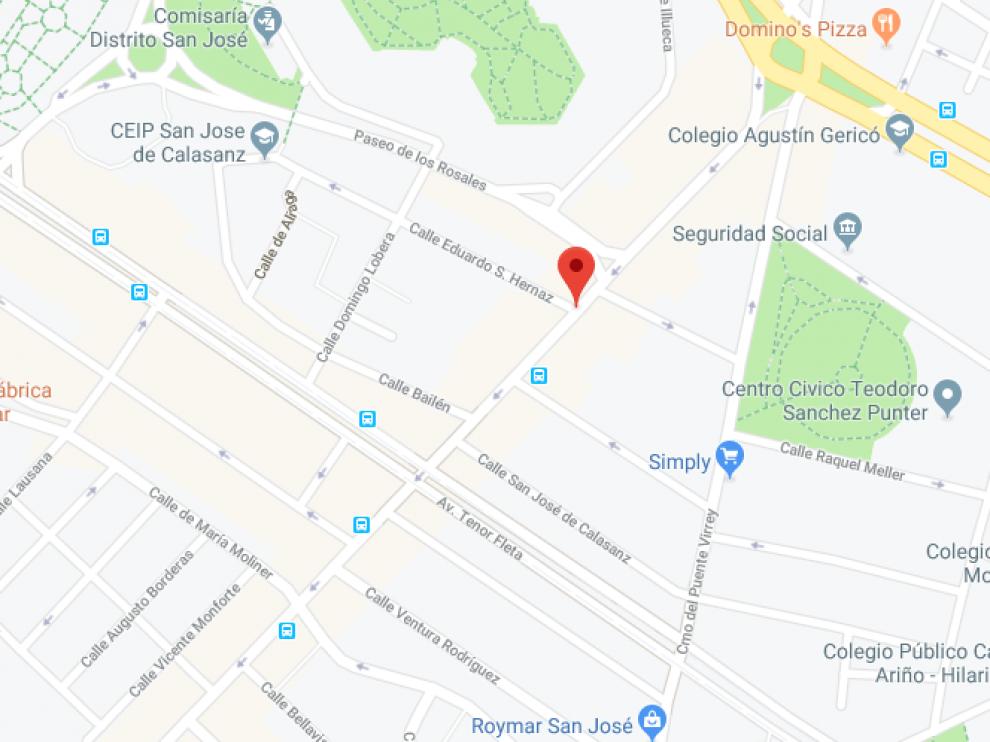 Los hechos han ocurrido en la avenida de San José.