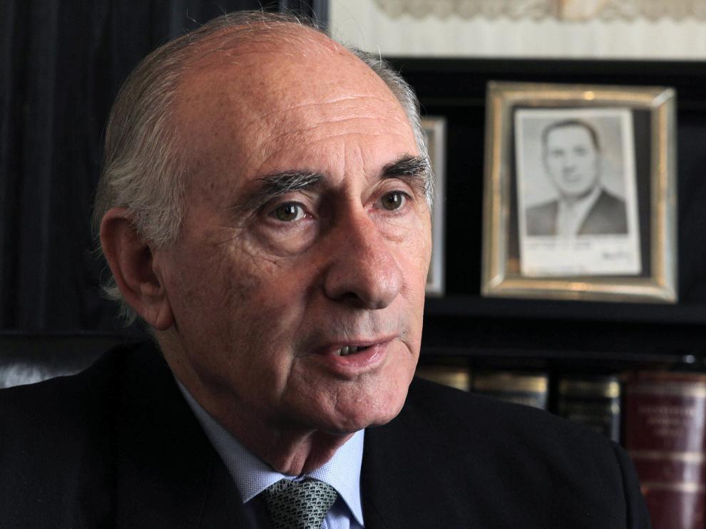 Imagen de archivo del expresidente argentino Fernando de la Rúa, fallecido este martes.