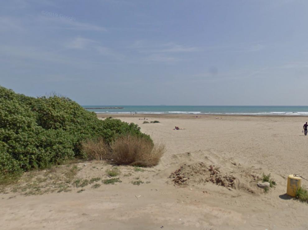 Playa en Massamagrell