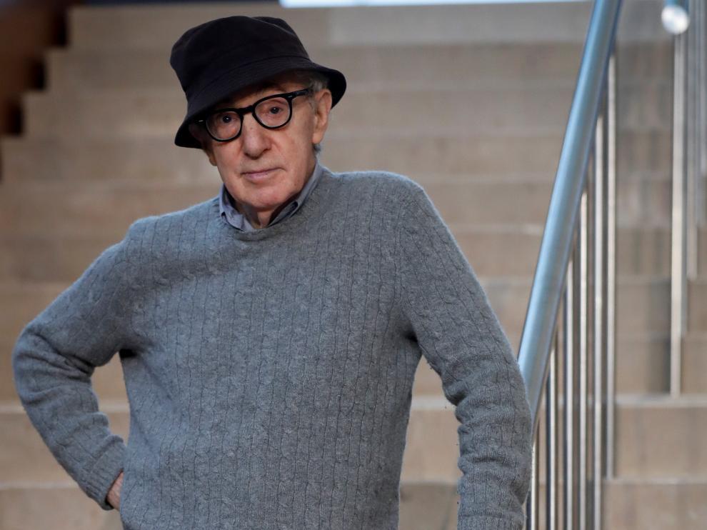 Woody Allen, este martes durante la presentación del rodaje de su nueva película en San Sebastián.