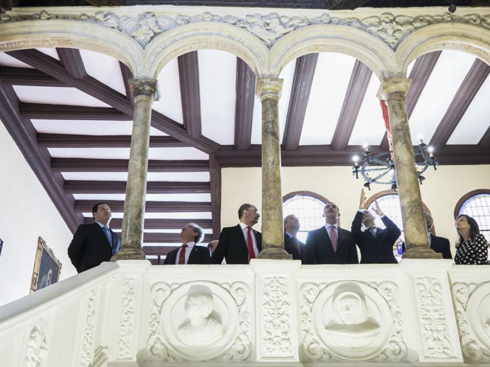 Visita del Rey a la Real Maestranza de Caballería de Zaragoza