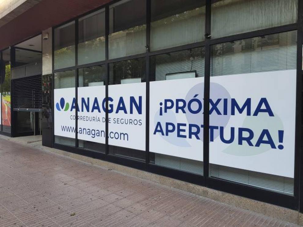 Nuevas instalaciones de Anagan en el paseo de Sagasta de la capital aragonesa