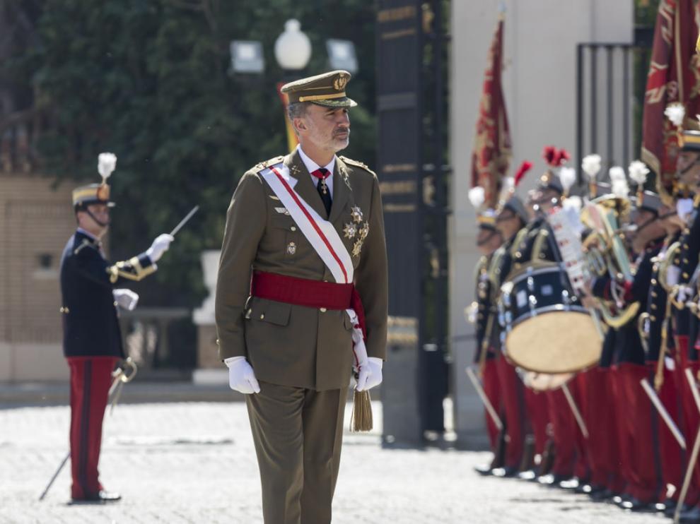 El Rey ha presidido la nueva entrega de Despachos en la AGM