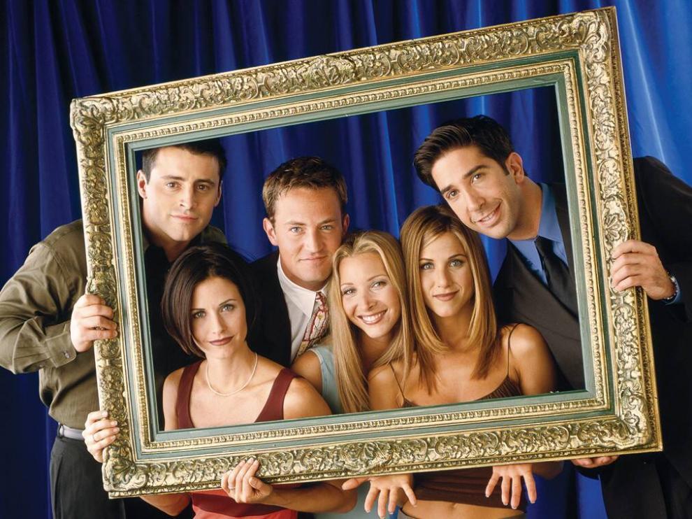 Los protagonistas de la serie 'Friends'
