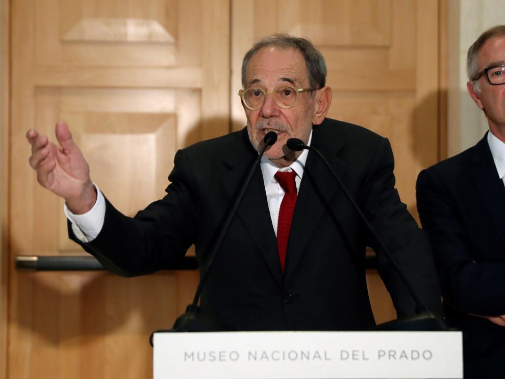 Javier Solana ha sido elegido por unanimidad nuevo presidente del Real Patronato del Museo del Prado.