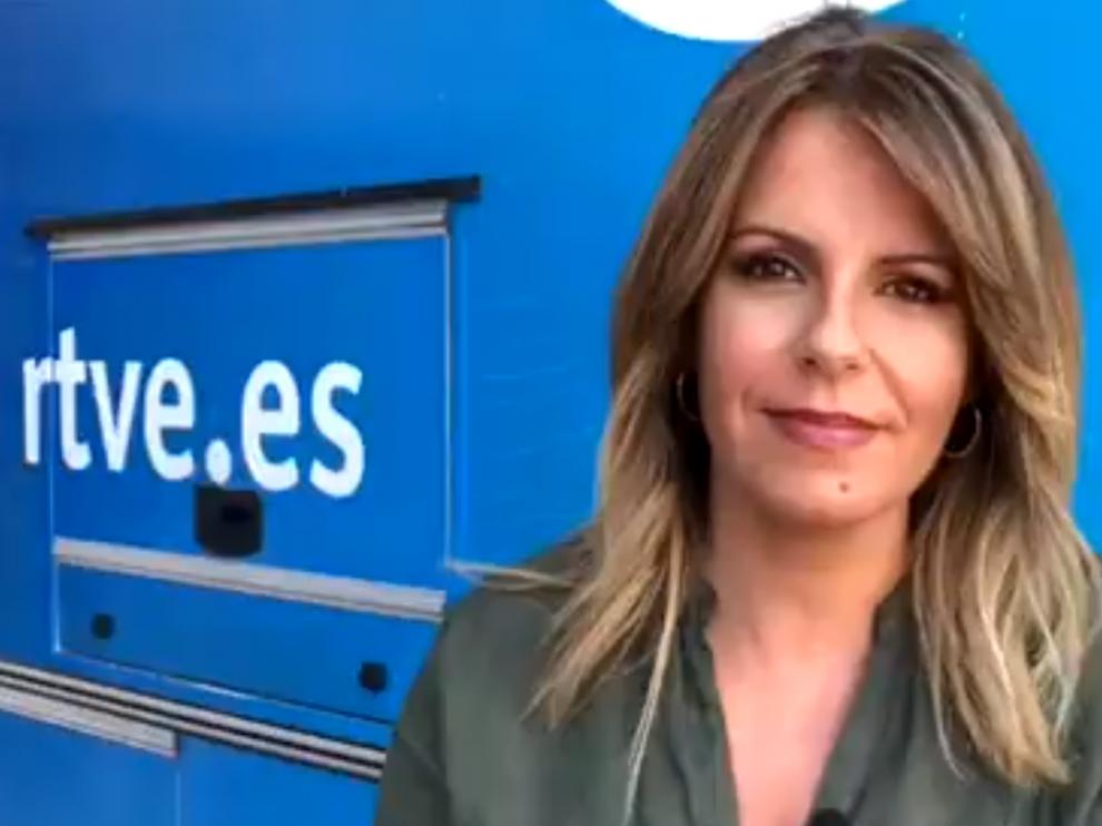 La periodista y presentadora Pilar García Muñiz.