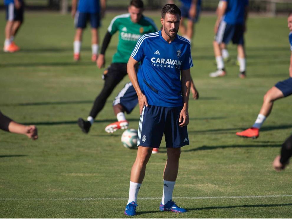 Francisco Javier 'Pichu' Atienza, nuevo defensa central del Real Zaragoza.