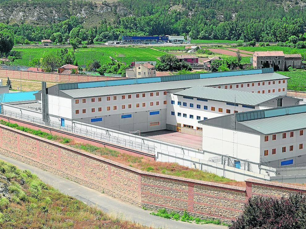 La nueva cárcel de Teruel, uno de cuyos módulos no ha sido estrenado por falta de presos.