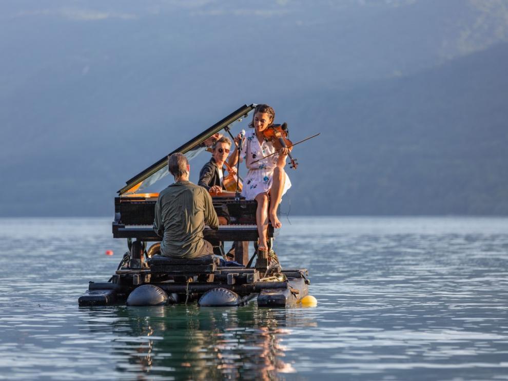 El Piano del Lago sonará esta noche en Graus.