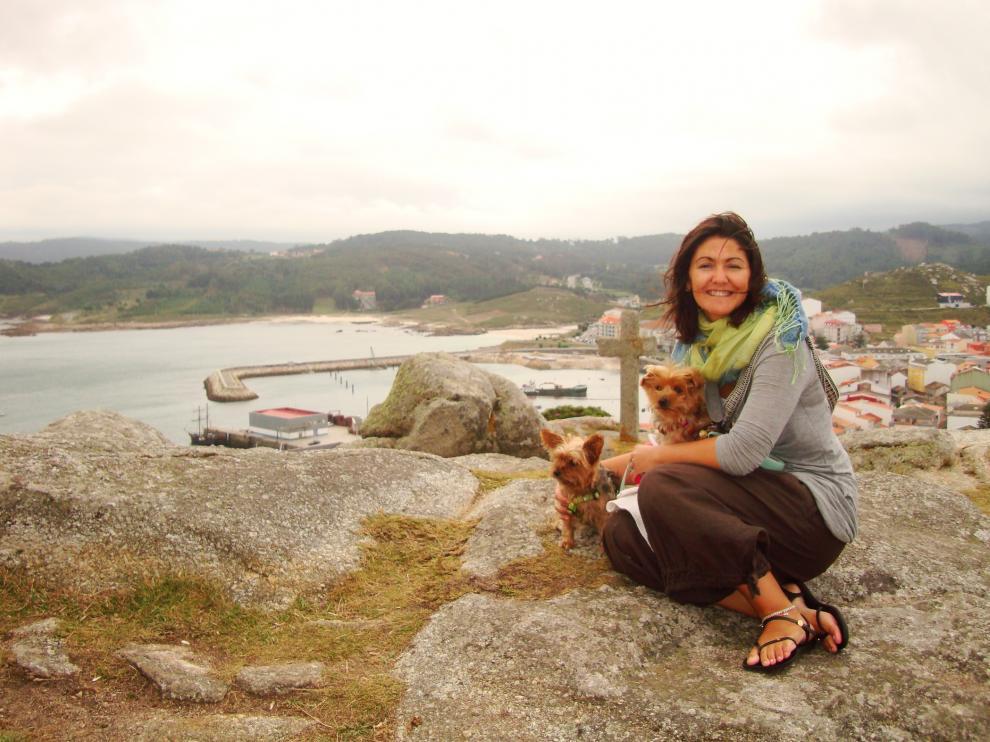 Silvia Porras, fundadora de la iniciativa en Zaragoza 'Tu perro es bienvenido'.