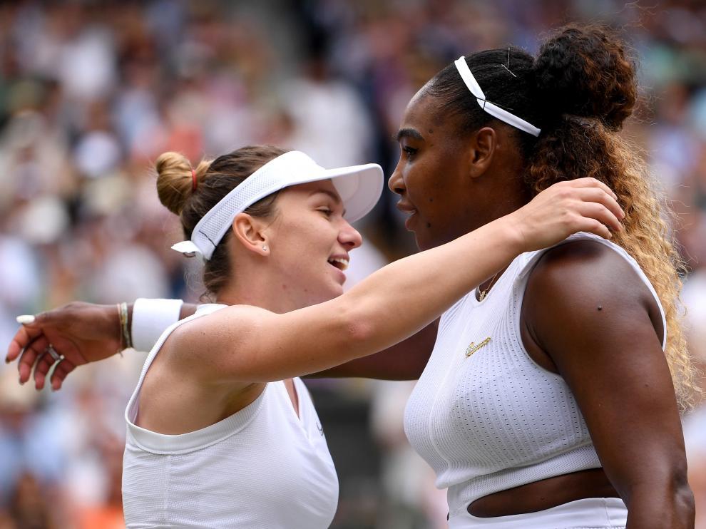 Halep vence a Serena Williams en la final de Wimbledon.