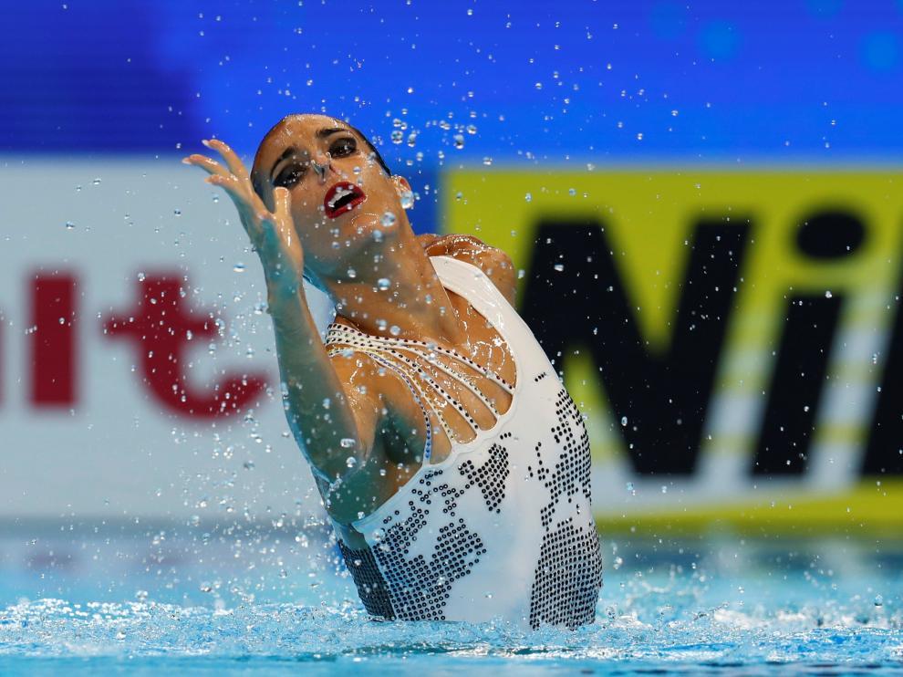 Ona Carbonell, plata en solo técnico, se cuelga su 21 medalla mundialista en Gwangju.