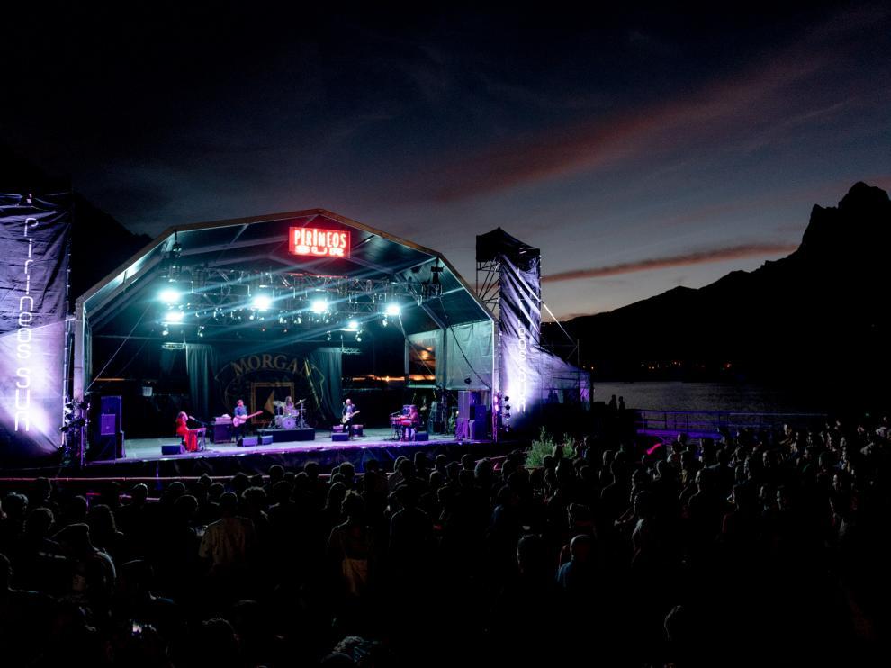 Concierto de Morgan en la primera noche de Pirineos Sur 2019