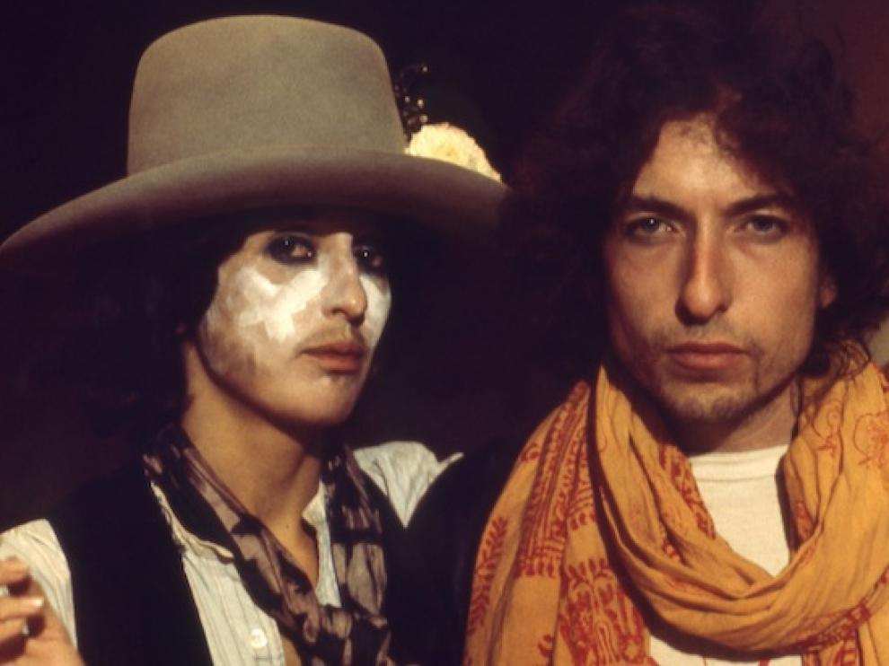 Joan Baez y Bob Dylan