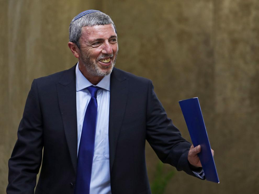 El ministro israelí de Educación en funciones, Rafi Peretz.