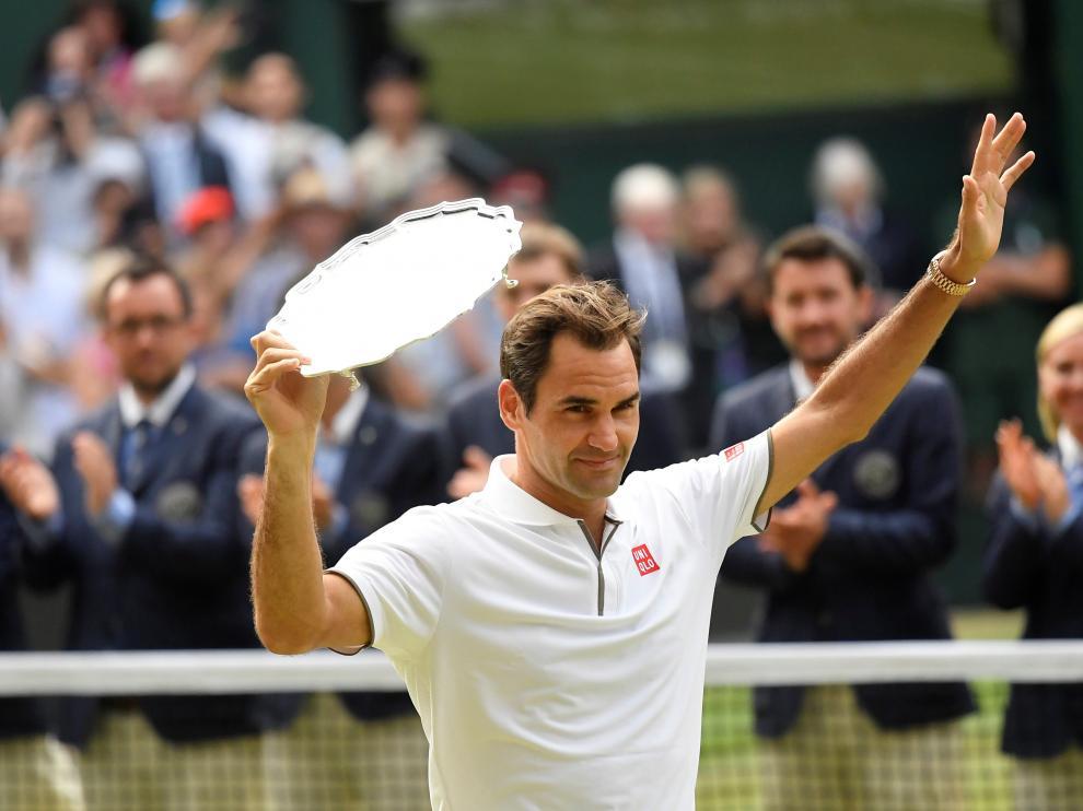 Final de Wimbledon entre Federer y Djokovic