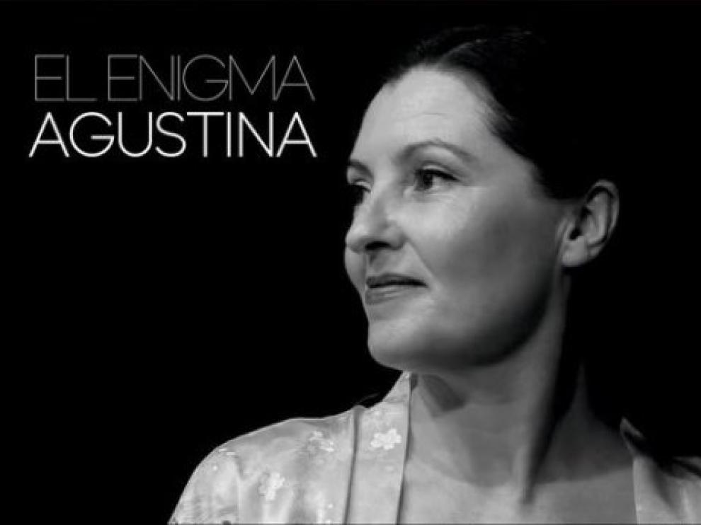 Imagen promocional del documental 'El enigma agustina', que se presenta mañana en el Patio de la Infanta de Zaragoza.