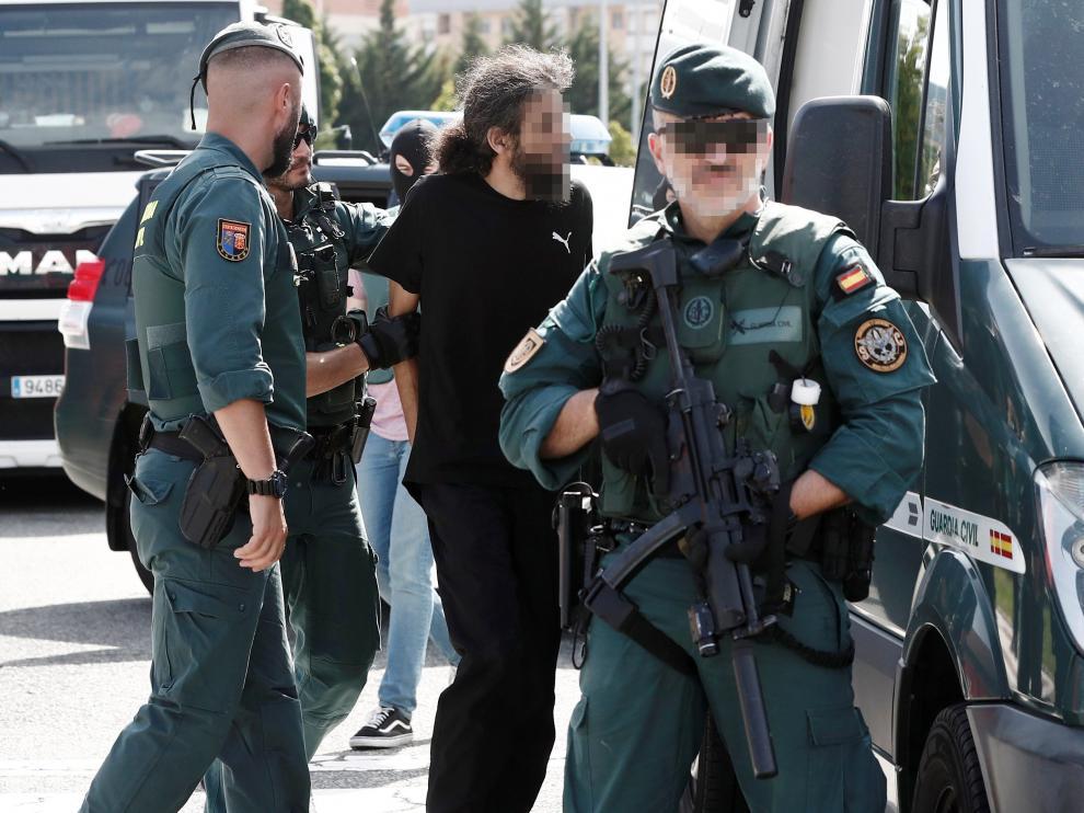 Nueva detención de un yihadista en Pamplona.