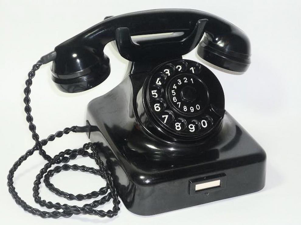 Los clásicos teléfonos estaban hechos de baquelita