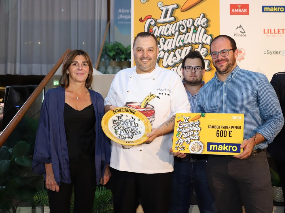 Ganador de la II Edición del Concurso de Ensaladilla Rusa de Zaragoza.