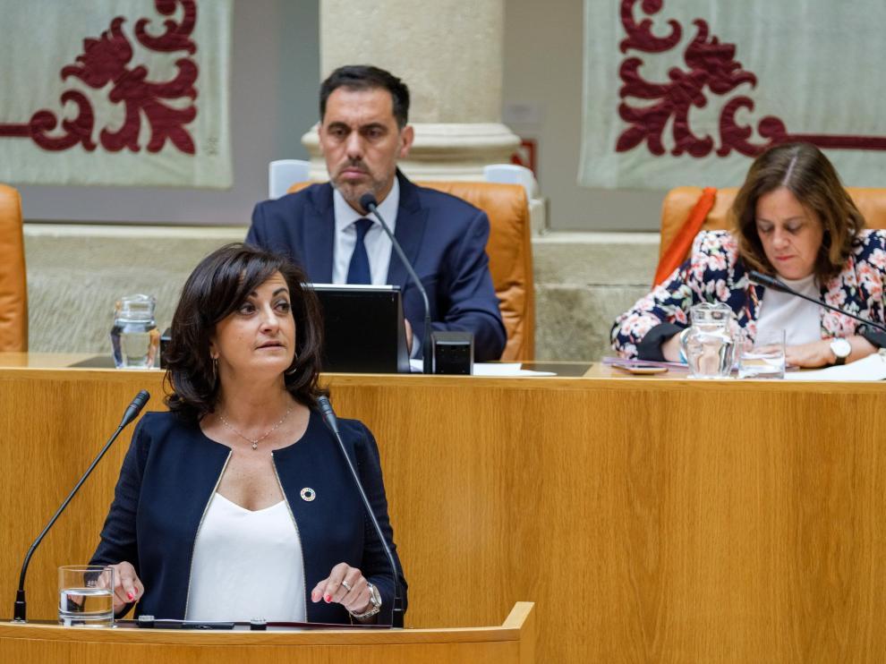 Podemos impide la investidura de la candidata del PSOE, Concha Andreu, como presidenta de La Rioja