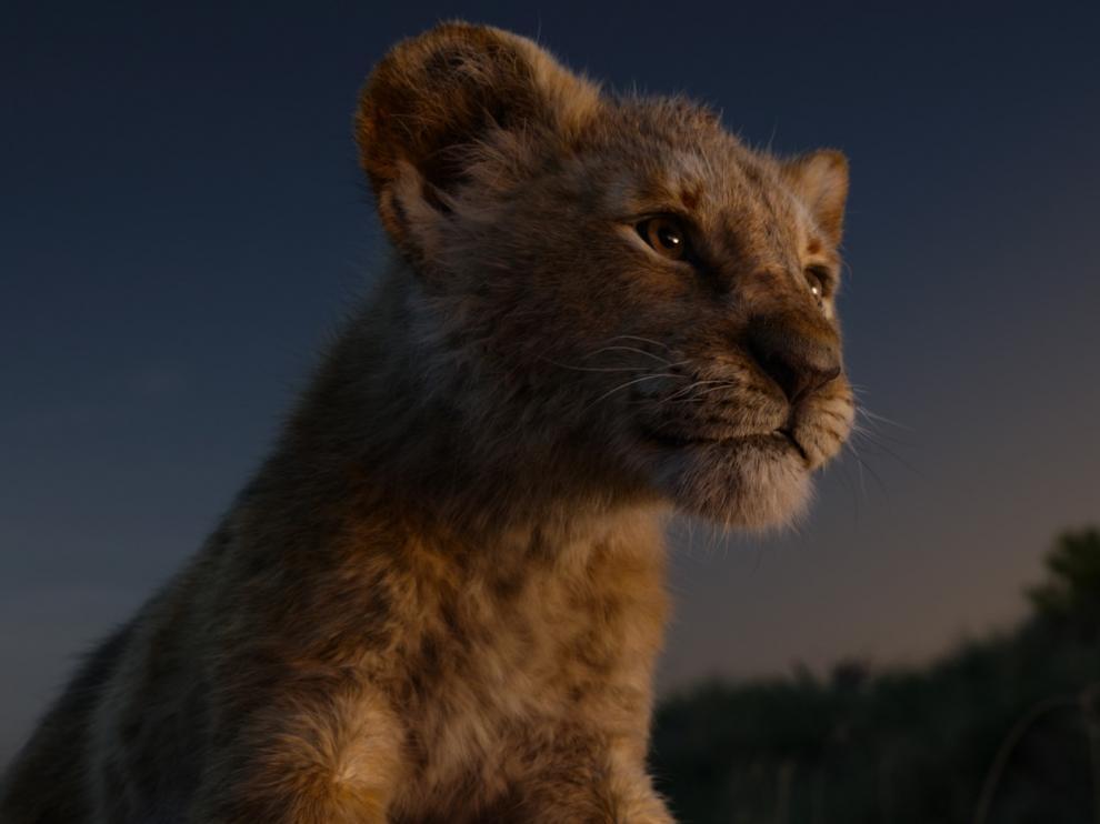 Fotograma 'El rey león'.