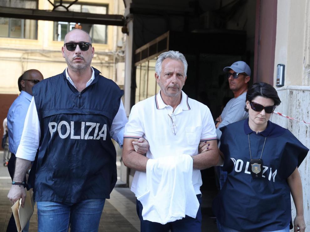 Francesco Inzerillo, uno de los detenidos.