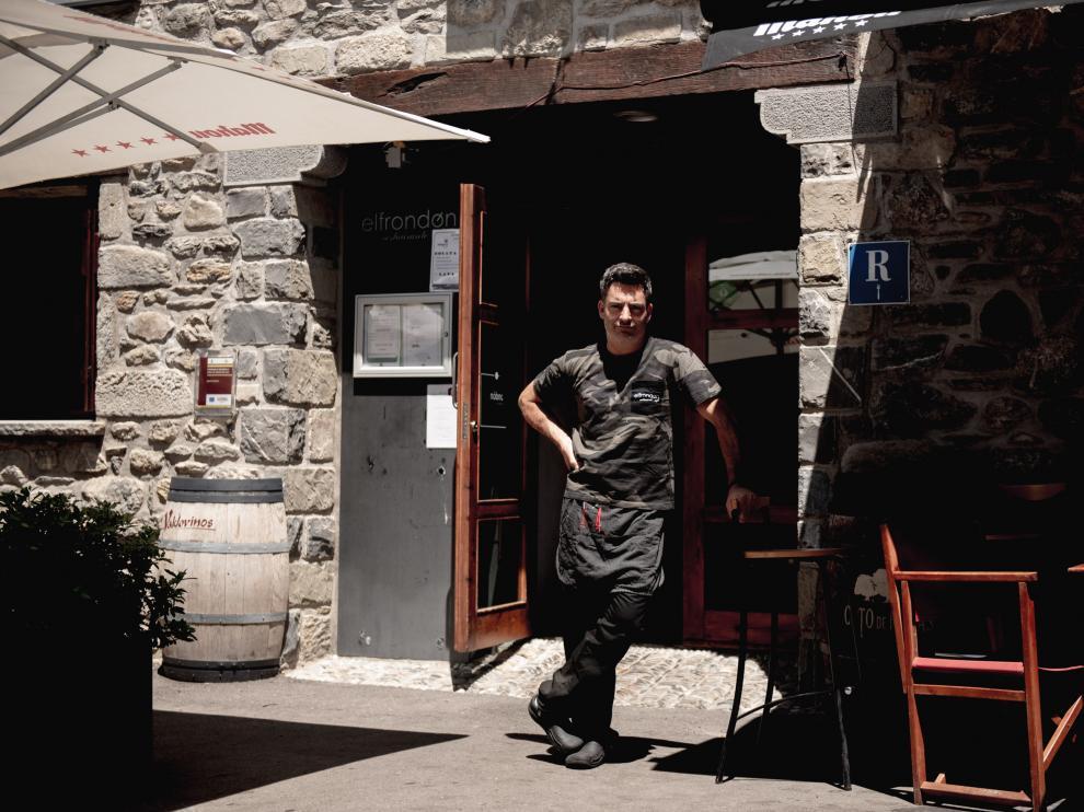 Lanuza, la historia de un pueblo que resurguó para convertirse en Pirineos Sur. David Almenar, en Lanuza