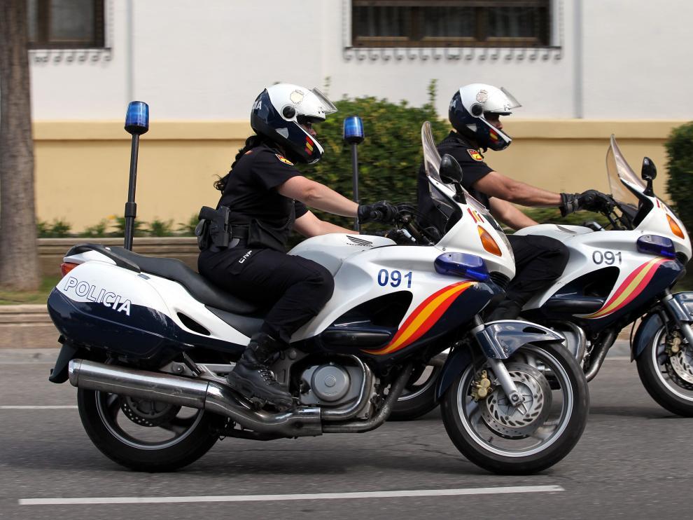 La Policía Nacional fue la encargada de detener a los tres jóvenes.