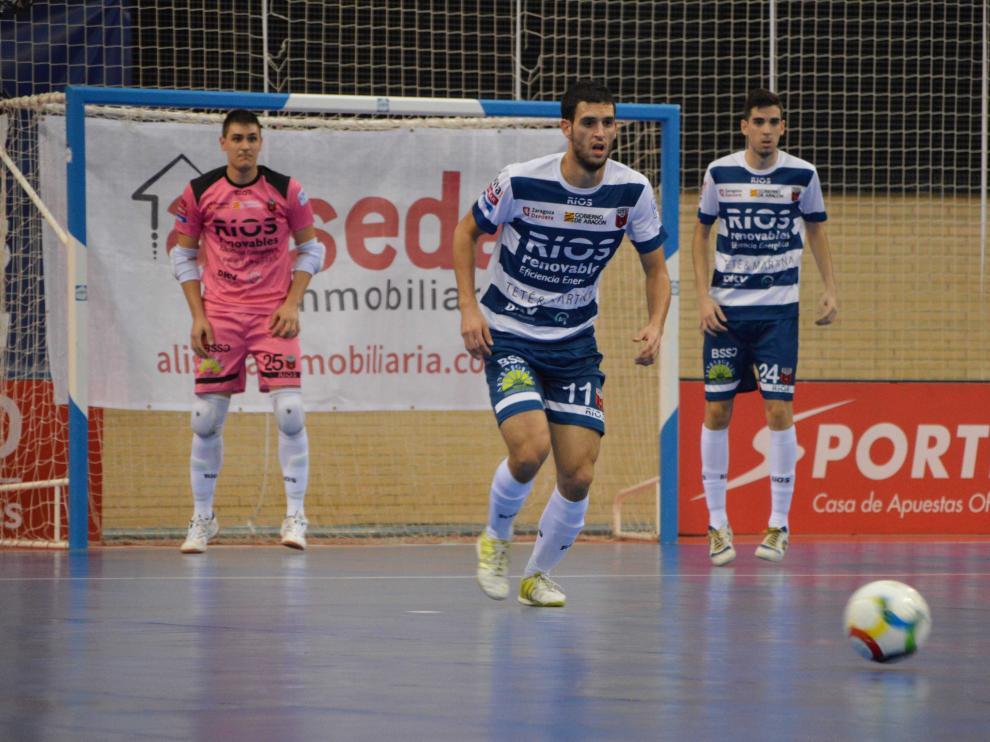 Pablo Trasobares, en una imagen de su anterior etapa en el Fútbol Emotion