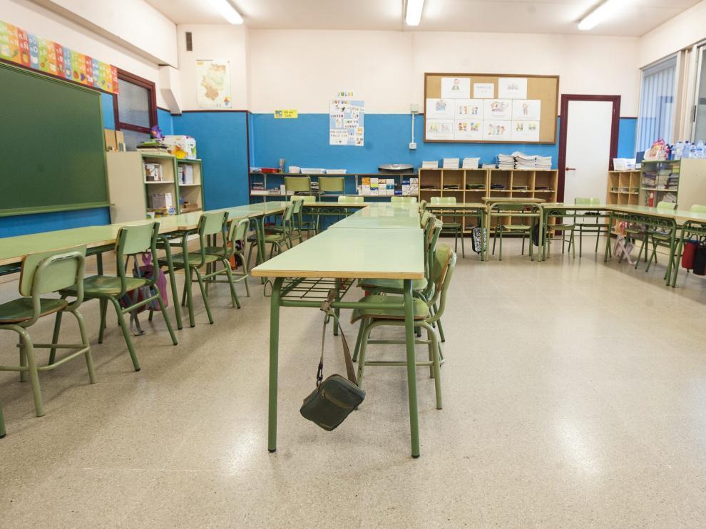 Termina el curso y las aulas se quedan vacías.