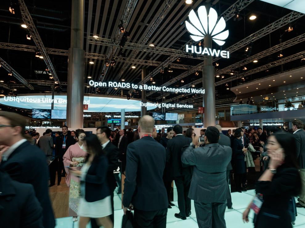 Huawei, puesto en el Mobile World Congress