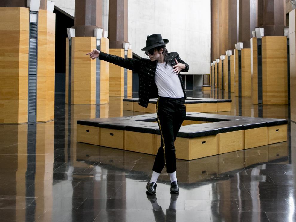 Presentación del espectáculo sobre Michael Jackson.