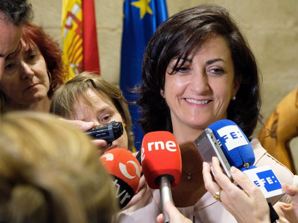 La candidata socialista a la Presidencia del Gobierno de la Rioja, Concha Andreu, ha declarado que las negociaciones se retomaran este jueves.
