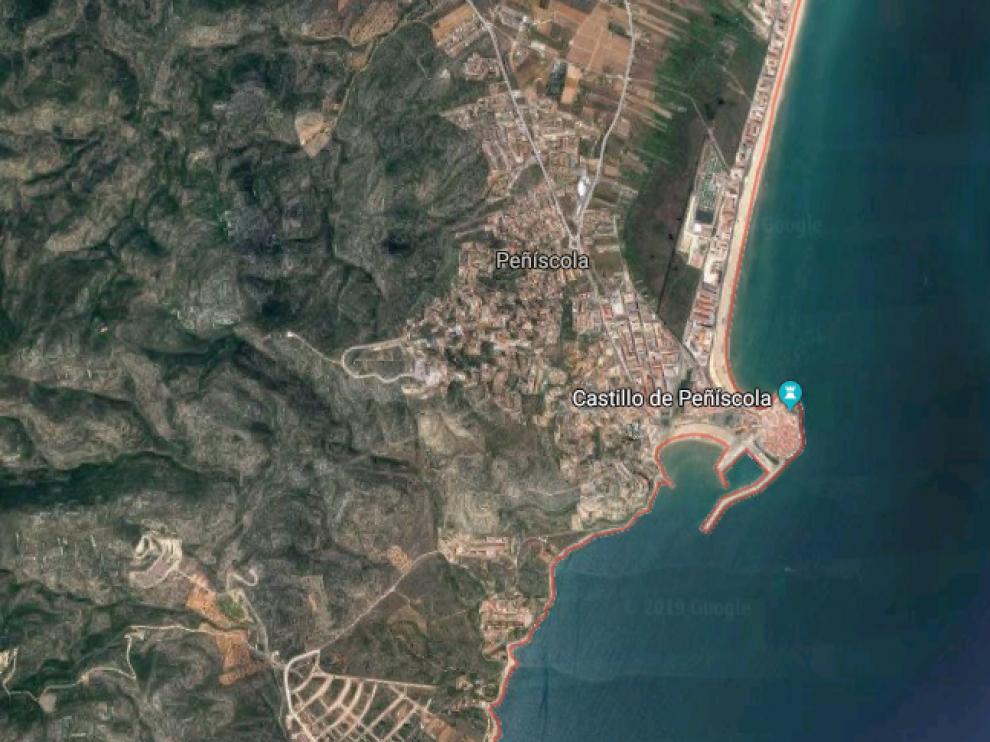 El incendio tuvo lugar en un hotel de Peñiscola.
