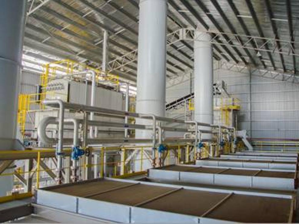 Imagen de una planta construida por Prodesa